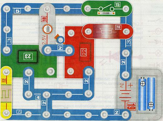 Электронный конструктор Знаток 180 схем.